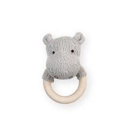 Jollein Rammelaar/Bijtring Hippo Light Grey