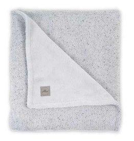 Jollein Deken 100x150cm Confetti Knit Grey/Teddy