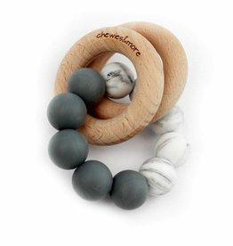 Basic Rattle Zwart/Marble