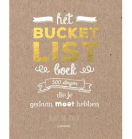 Bucketlist boek