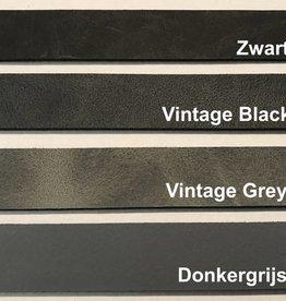 Leren Handgrepen Vintage Grey S (Set Van 2)