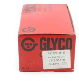 Glyco Porsche big end bearing set 0.50mm undersize