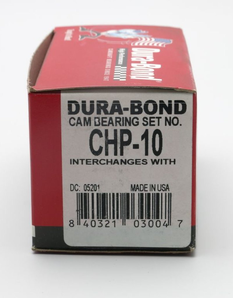 Dura-Bond Camshaft Bearing Set Chevrolet 293 /325/ 346/ 364