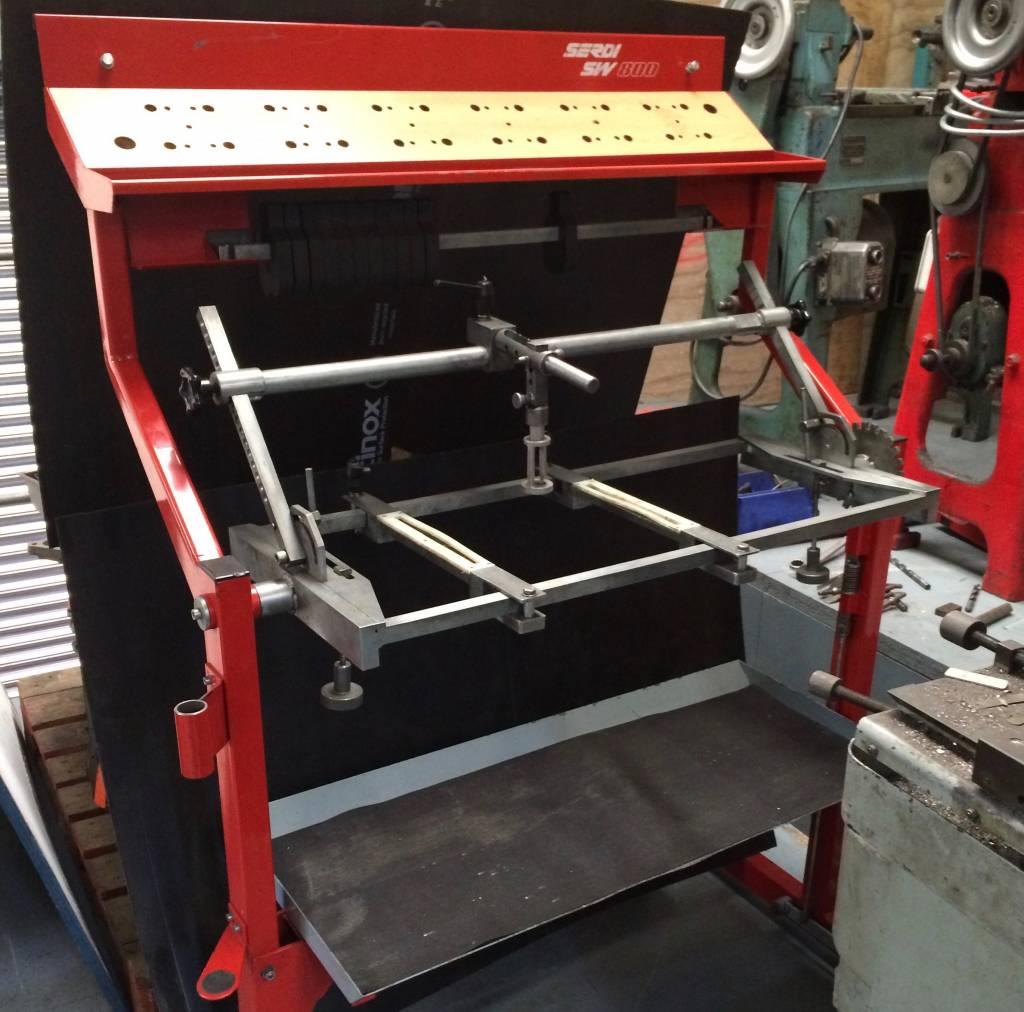 Serdi SW 800 Cylinder Head Workstation