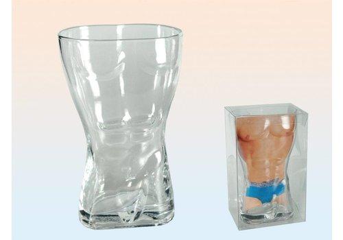 Drinkglas - Mannelijk torso