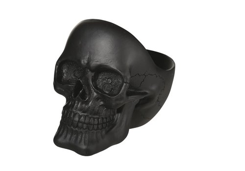 Schaal Skull zwart