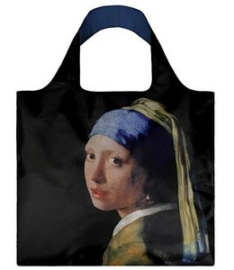 LOQI Tote Museum Col. - Girl with a pearl earring