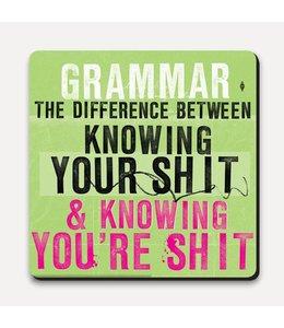 Onderzetter - Grammar