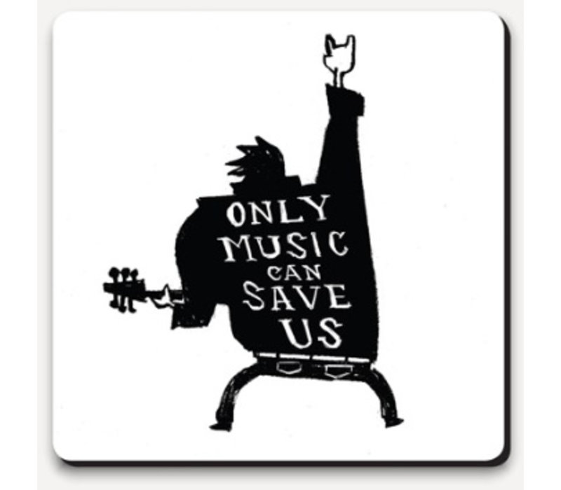 Type Club Coaster - Only Music can save us