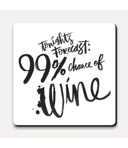 Matthew Taylor Wilson Coaster - Today's Forecast