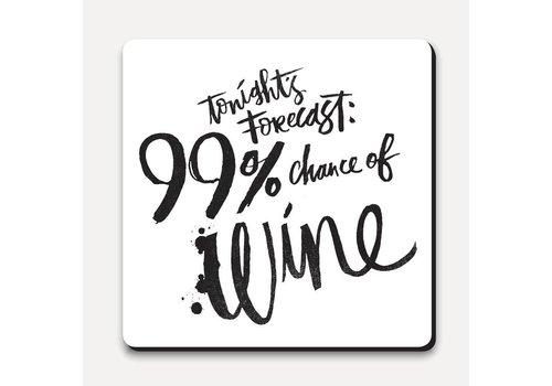 Matthew Taylor Wilson Coaster - Tonight's Forecast