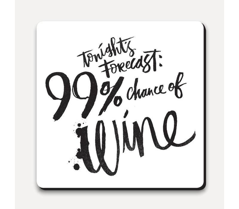 Matthew Taylor Wilson Coaster - Today's Forecast