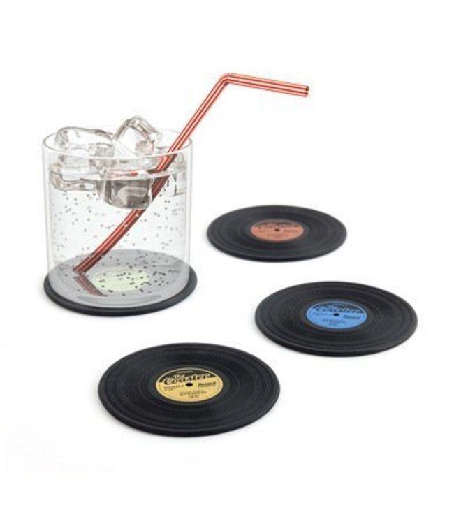 Balvi Onderzetter set in de vorm van een LP