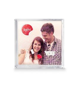 Balvi Frame,I Love You,10x10,plastic