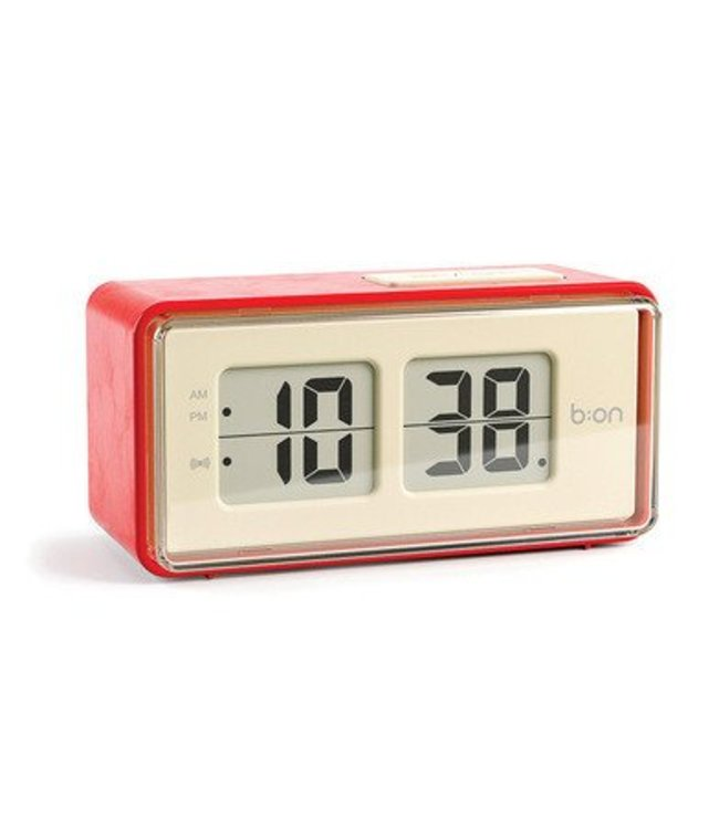 Balvi Alarm clock Flip red