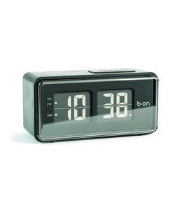 Balvi Alarm clock Flip black