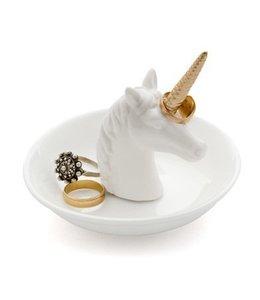 Balvi Ringholder,Unicorn,white,ceramic