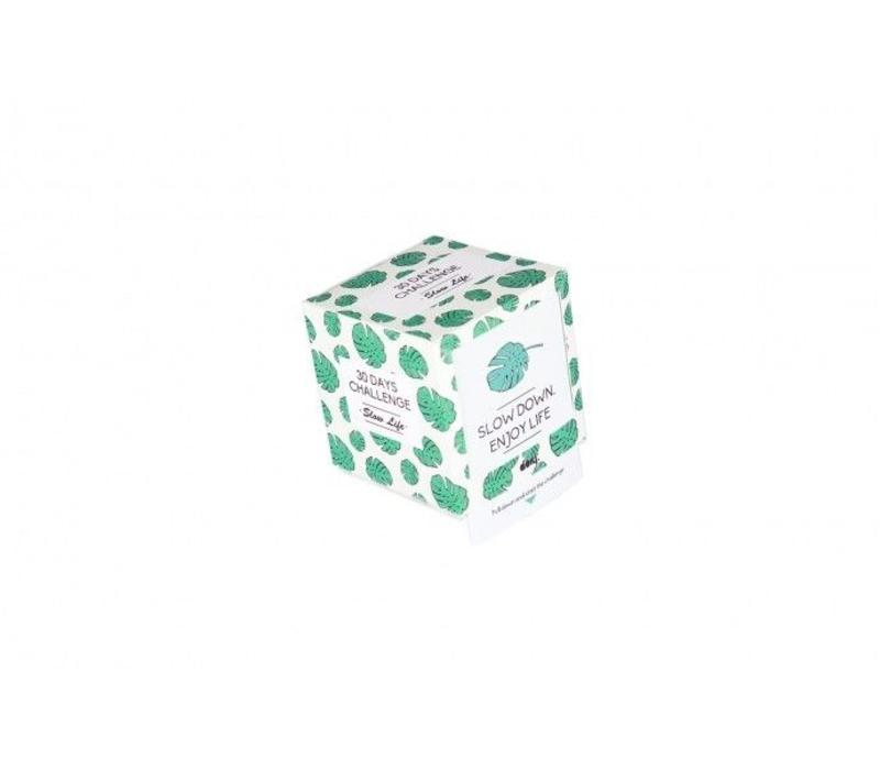 Challenge cube Slow life