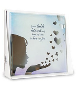 Silver Silhouette - Quote - Liefde