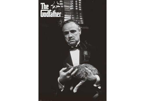 GODFATHER CAT B&W