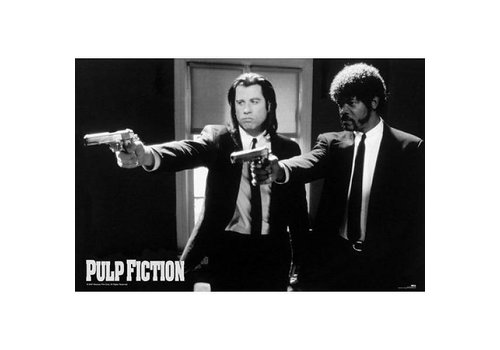 PULP FICTION B/W GUNS