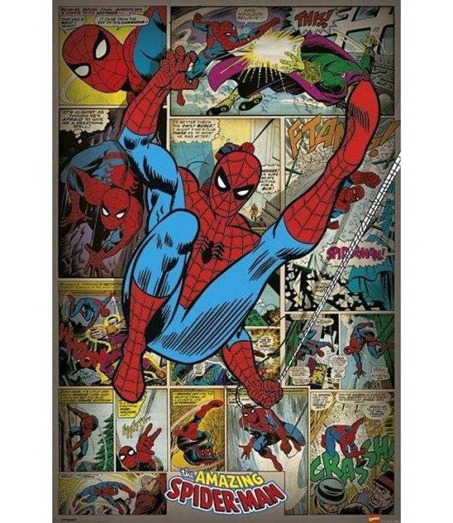 MARVEL COMICS SPIDERMAN RETRO