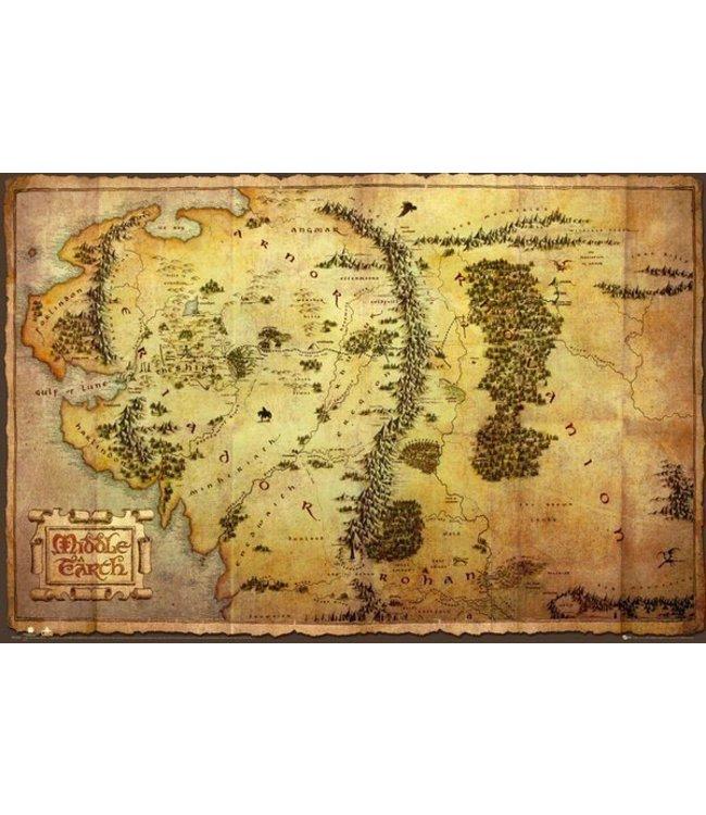 THE HOBBIT - MAP