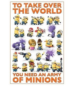 DESPICABLE ME 2 TAKE OVER THE WORLD