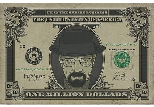 BREAKING BAD HEISENBERG DOLLAR