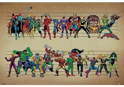 MARVEL COMICS LINE UP