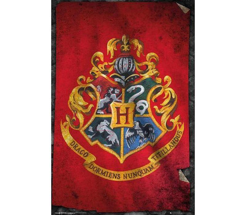HARRY POTTER HOGWARTS FLAG