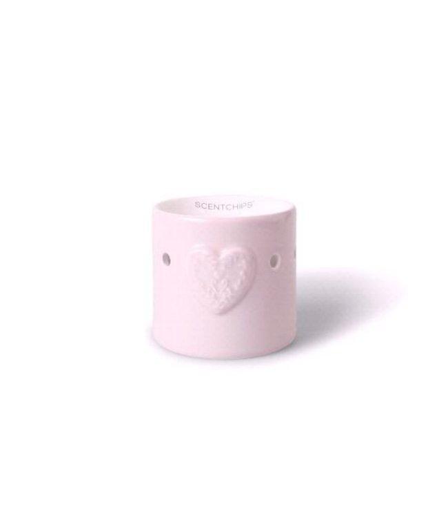 Heart Burner 8.5x9cm Pink
