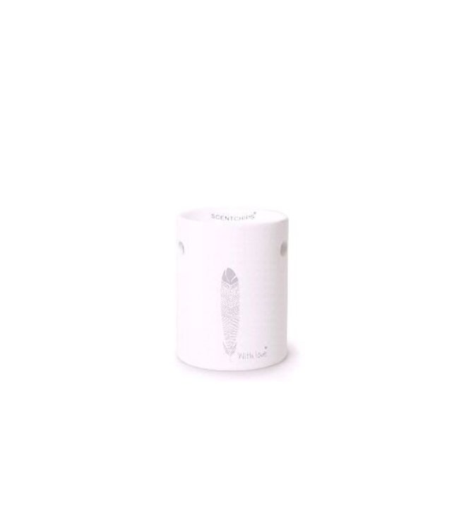 Burner Silicone White With love
