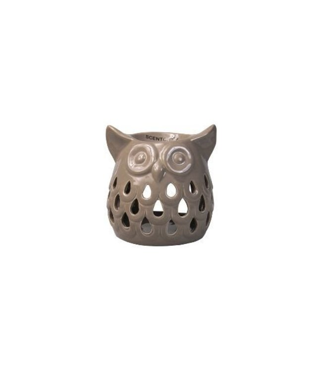 Burner Owl Cut Out Taupe 11,5x10,5x11,5cm