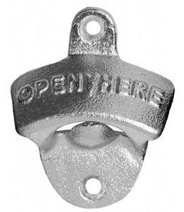 Bottle opener wall