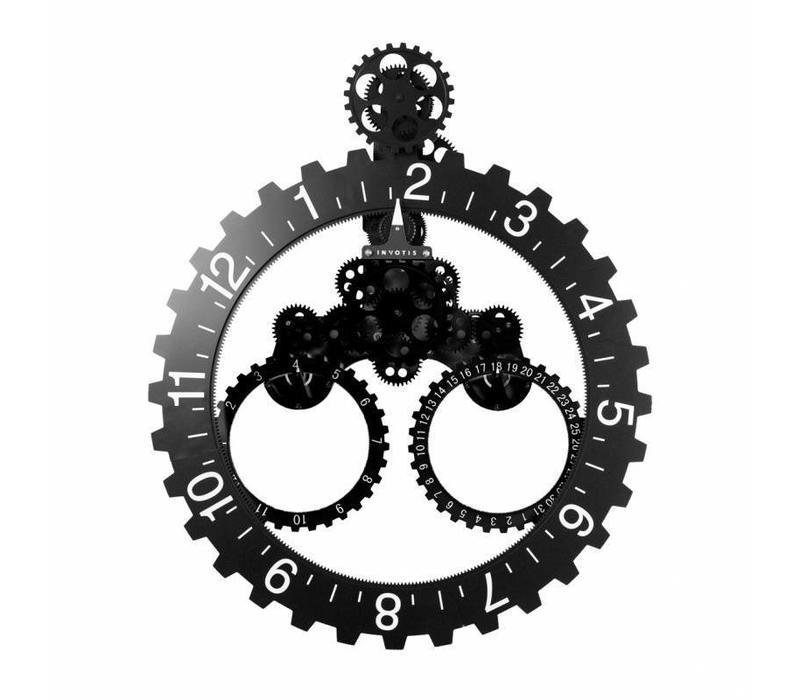 Big Wheel year/month black/white digits 55O