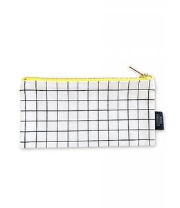 Canvas bag Grid S