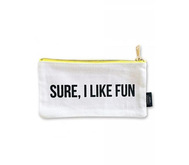 Canvas bag Sure I like fun S