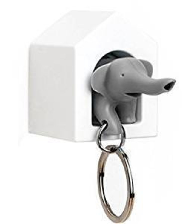 Elephant Key - grey