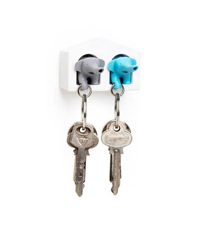 Elephant Key Duo - blue/grey