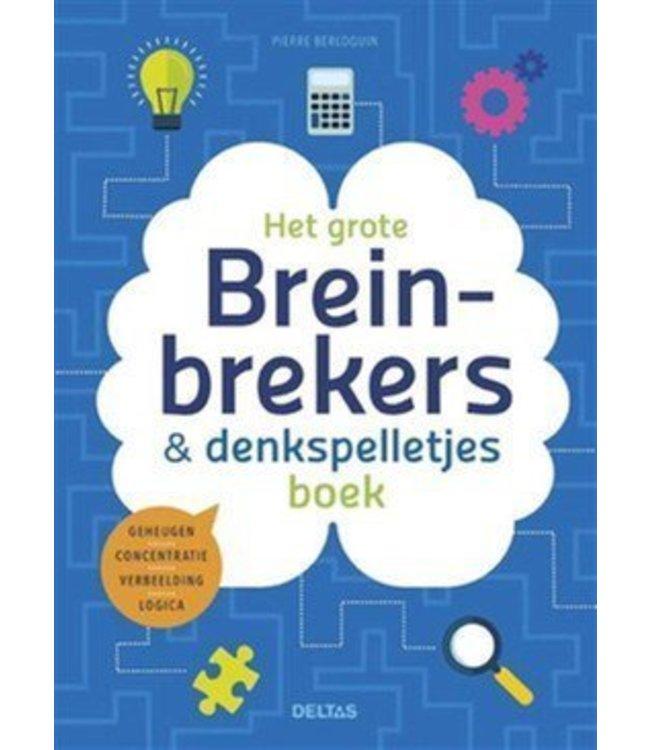 Deltas Het grote breinbrekers-en denkspelletjesboek