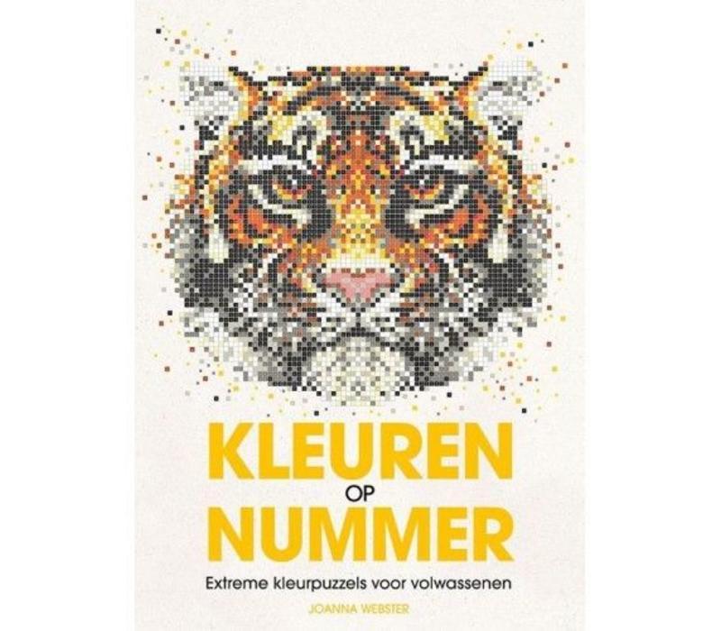Kleurboek  Kleuren Op Nummer - BBNC
