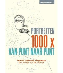 Portretten 1000x van punt naar punt