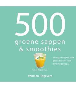 500 groene sappen en smoothies