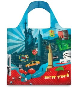LOQI Tote Type - New York Retro