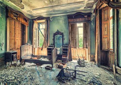 Matthias Haker Once a Glorious House