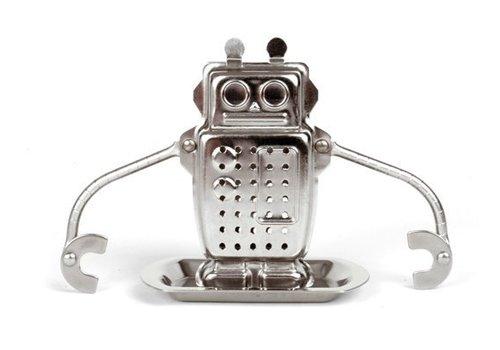 Kikkerland Theehouder - robot