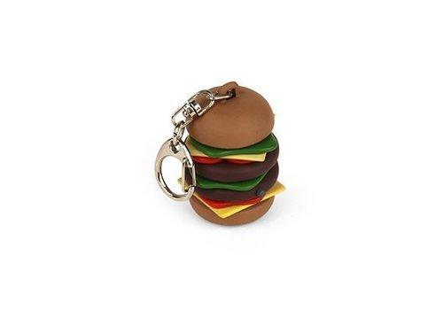 Kikkerland Sleutelhanger - hamburger
