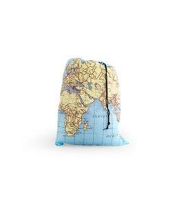 Kikkerland Waszak - landkaart