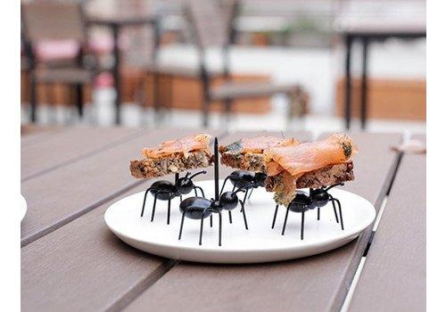 Kikkerland Cocktailprikkers - Mieren